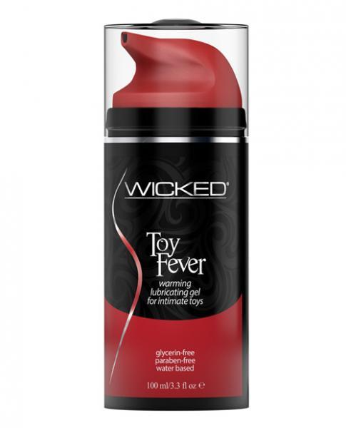 Wicked Toy Fever Warming Gel Lubricant 3.3oz - Dick and Jane Adult Emporium