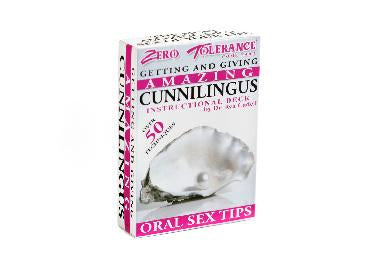 The Amazing Cunnilingus Instructional Deck
