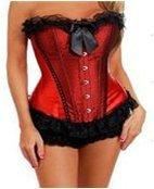 Luscious - Corset and G-String Set - X-Large