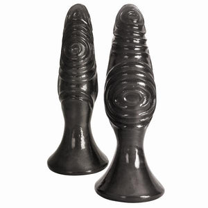 The Pawns Anal Plug Duo Black