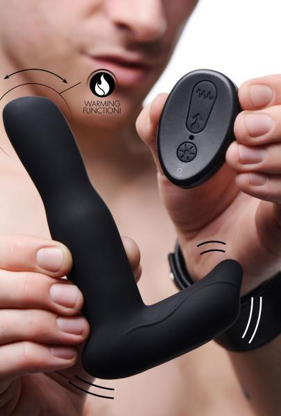 Under Control Prostate Stroking Vibrator & Remote Control Black