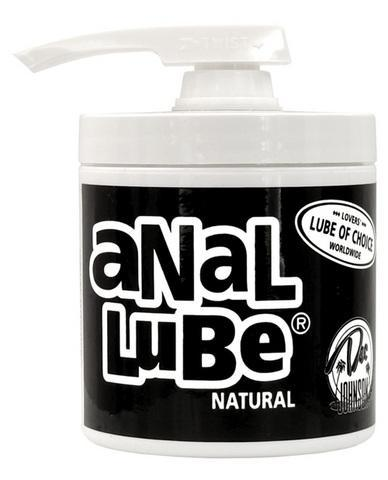 Anal Lube Natural 4.5 Oz Pump - Dick and Jane Adult Emporium