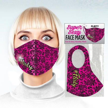 Super Sexy #flirty Face Mask