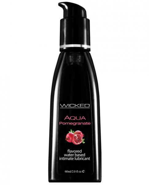 Wicked Aqua Lubricant Pomegranate 2oz