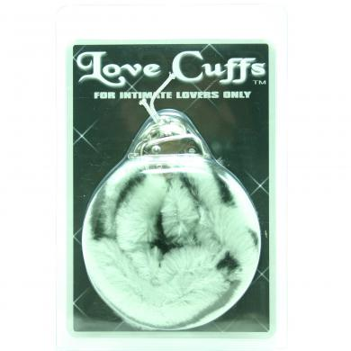 Plush Love Cuff Zebra