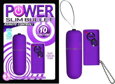 Power Slim Bullet Remote Control Purple
