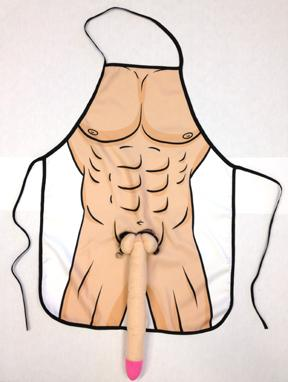 GIANT PECKER APRON