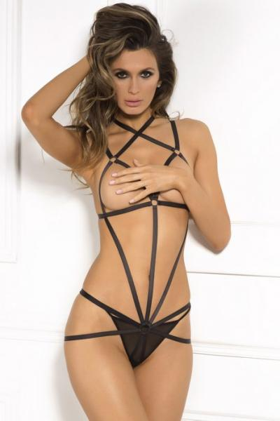 Rene Rofe Wrapped In Lust Body Harness Black S-M