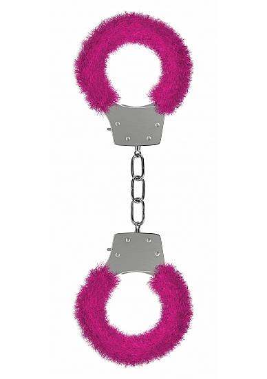 Ouch Pleasure Handcuffs Furry Pink