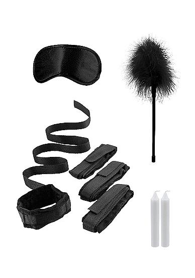 Ouch Bed Bindings Restraint Kit Black