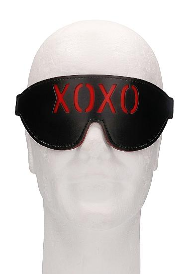 Ouch! Blindfold XOXO Black O-S