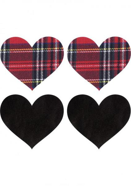 Peekaboos Pasties School Girl Hearts