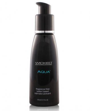 Wicked sensual care collection fragrance free 2 oz lubricant - aqua - waterbased - Dick and Jane Adult Emporium