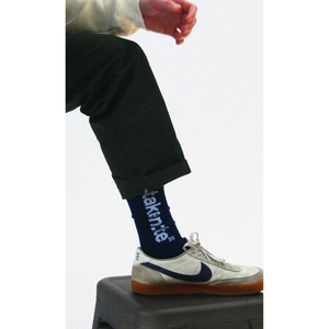 Load image into Gallery viewer, Logo Socks - Navy