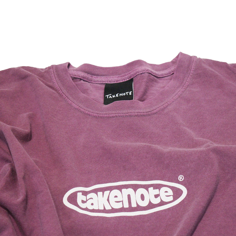 Load image into Gallery viewer, Faded Court Tee - Mauve