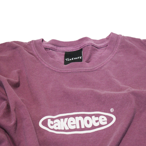 Faded Court Tee - Mauve