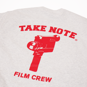 Load image into Gallery viewer, Film Crew Tee - Ash