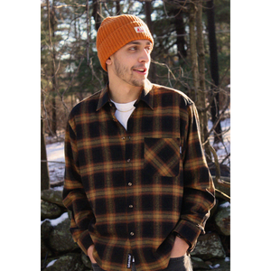 Load image into Gallery viewer, Lodge Flannel - Autumn Plaid