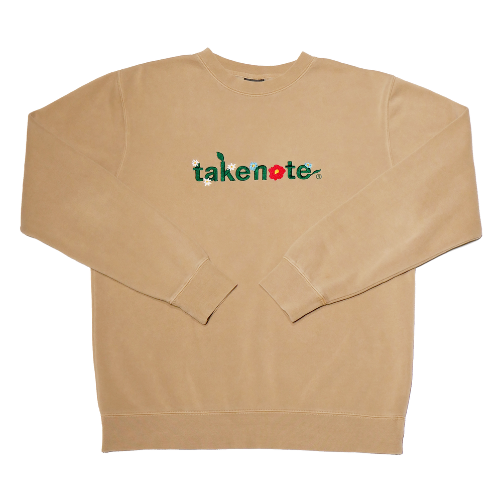 Load image into Gallery viewer, Greenthumb Crewneck - Sandstone