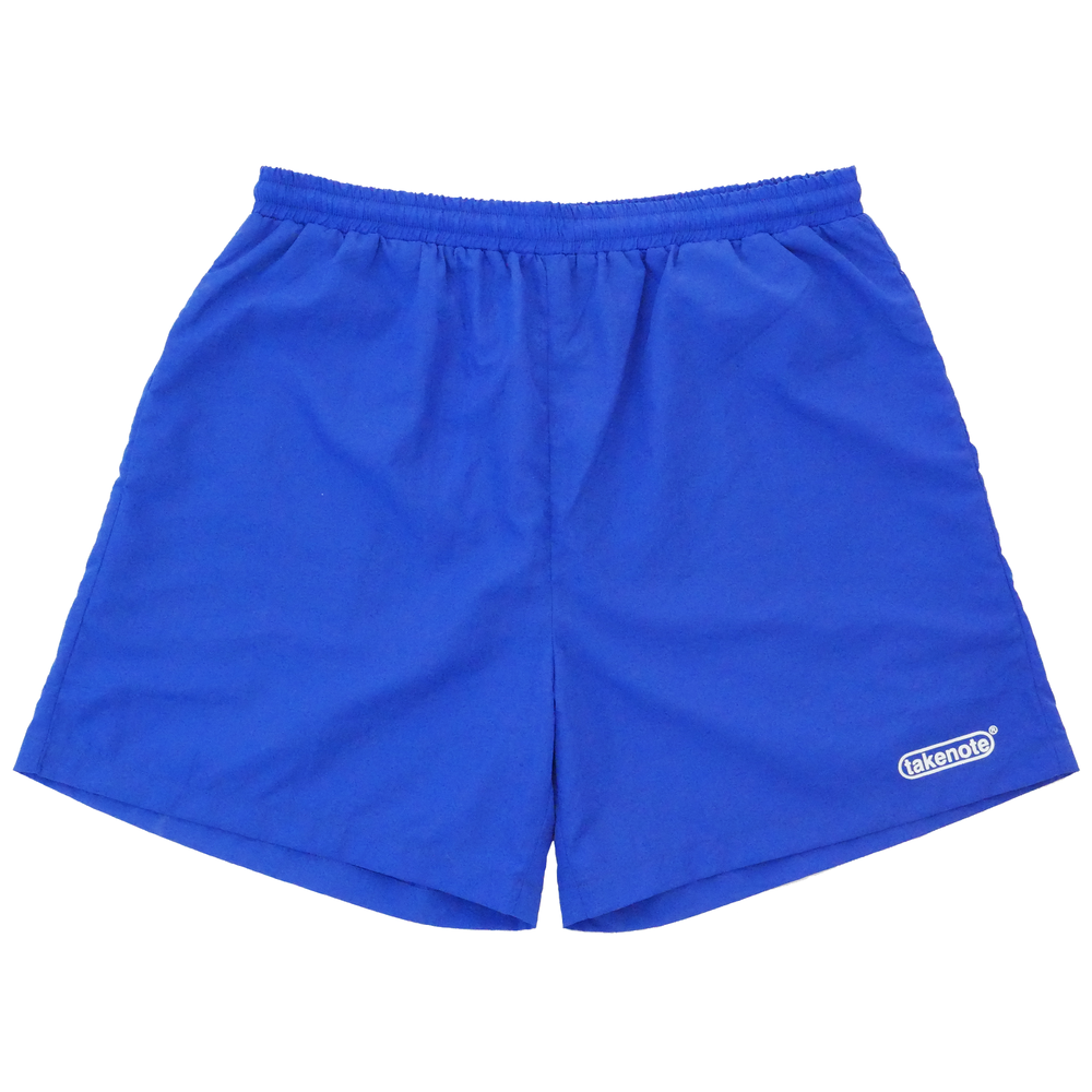 Nylon Street Shorts - Royal