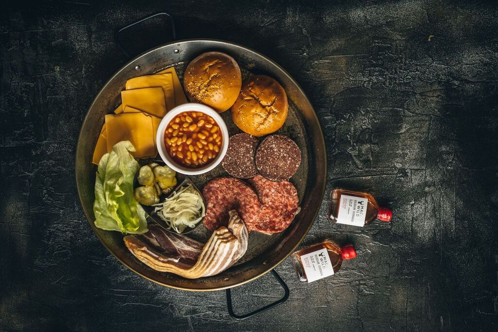 Dirty Brunch Burger Kit