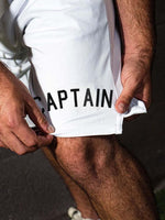 Load image into Gallery viewer, Men's Captain Anchor Print Casual Shorts