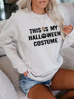 Load image into Gallery viewer, Women's This is My Halloween Costume Sweatshirt