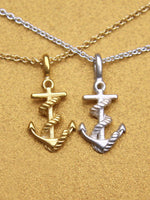 Load image into Gallery viewer, Friendship Necklace Anchor