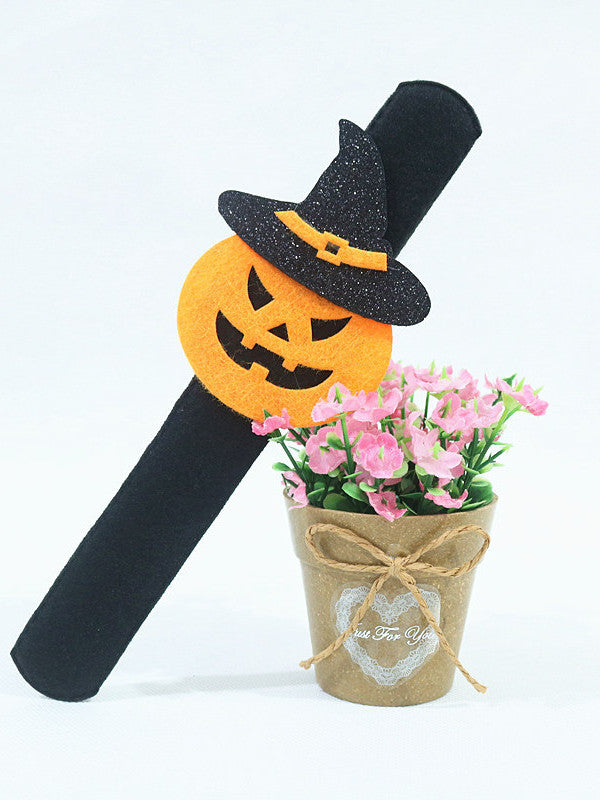 Halloween props pat circle party decoration costume party ghost festival bat ghost pumpkin spider bracelet