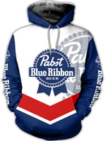 Load image into Gallery viewer, Men's Liquor PABST BLUE RIBBON BEER Hoodie