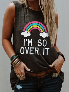 I'm So Over It Print Tank