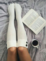 Load image into Gallery viewer, Women's Curled Long Tube Pile Socks