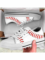 Load image into Gallery viewer, Baseball Low Top Shoes