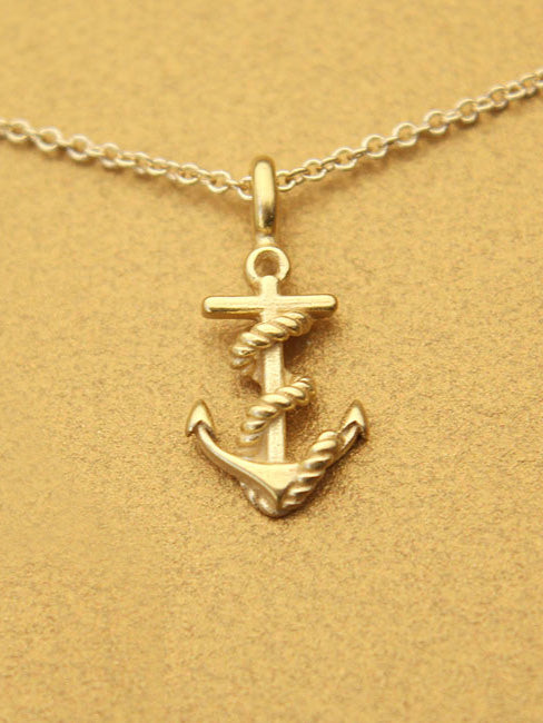 Friendship Necklace Anchor