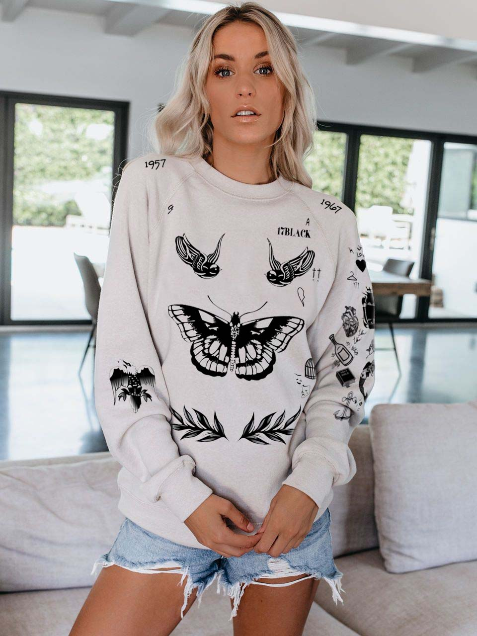 Harry Styles Album Sweatshirt