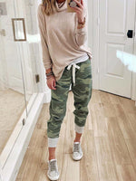 Load image into Gallery viewer, Women's Camo Pockets Casual Pants