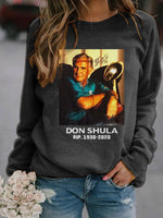 Load image into Gallery viewer, Don Shula Rip Long Sleeve Pullover
