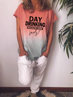 Load image into Gallery viewer, Day Drinking Because 2020 Sucks Tie Dye Short Sleeve T-Shirt
