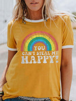 Load image into Gallery viewer, You Can't Steal My Happy T-shirt