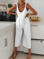 Load image into Gallery viewer, Bowknot Strap Jumpsuit
