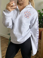 Load image into Gallery viewer, Women's Dog Paw Print Pullover