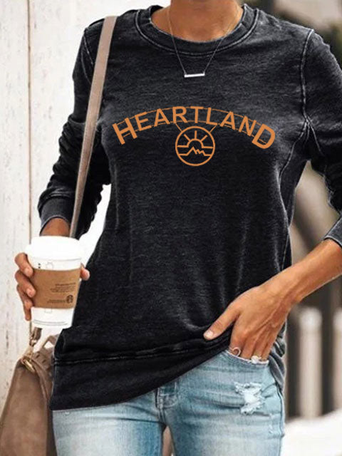 Heartland TV series printed comfortable Sweatshirt