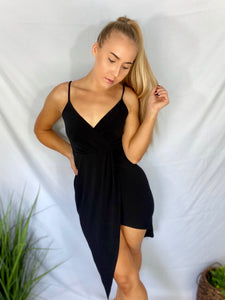 Abby Midi Dress - Black