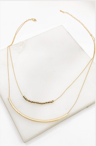 Liv Layered Necklace - Gold