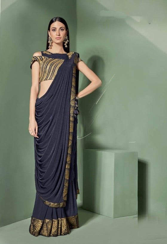 Stunning Readymade saree to make you look classy