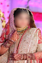 Load image into Gallery viewer, Exclusive Tissue bridal Khadadupatta