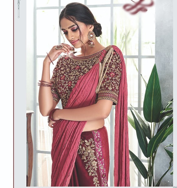 Stunning Readymade saree to make you look classy.