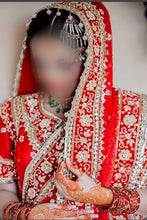 Load image into Gallery viewer, Hot Red bridal Khadadupaatta