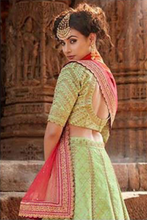 Load image into Gallery viewer, Perfect Lehanga Choli for weddings and engagements.
