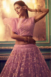 Pink Exclusive Party Wear Lehenga